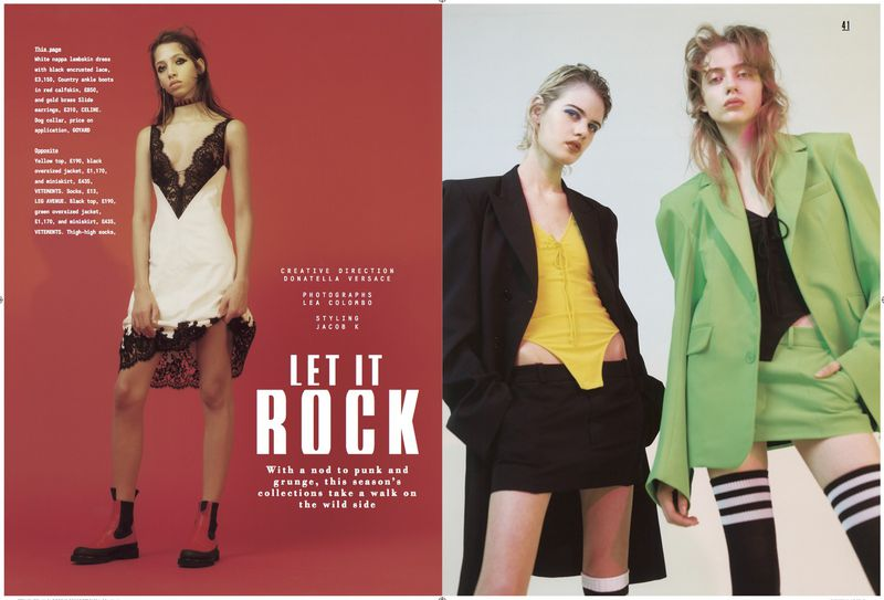 Let It Rock Sunday Times Style Magazine