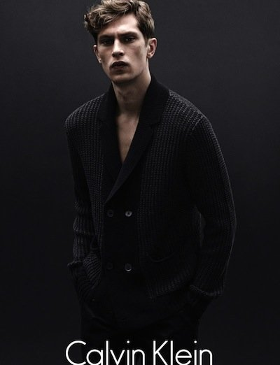 Mathias Lauridsen - Ph: Daniel Jackson for Calvin Klein F/W 12