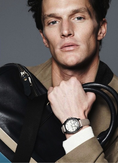 Shaun De Wet - Ph: David Sims for Coach S/S 13