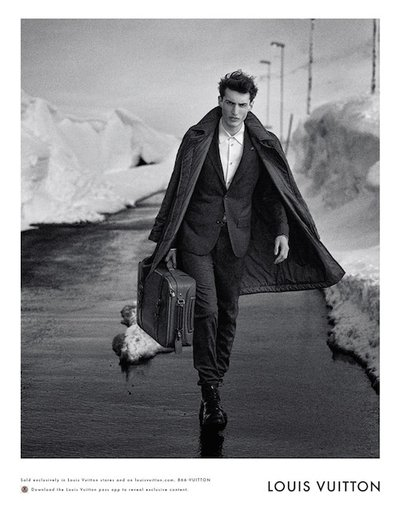 Charlie France - Ph: Peter Lindbergh for Louis Vuitton F/W 14