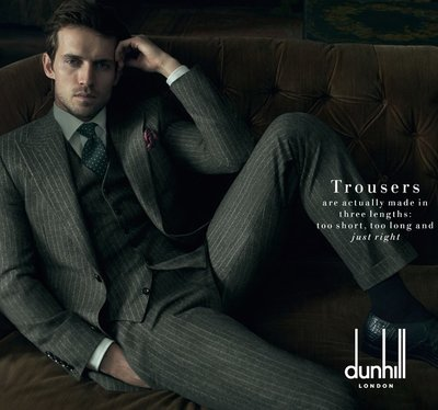 Andrew Cooper - Ph: Annie Leibovitz for Dunhill F/W 14