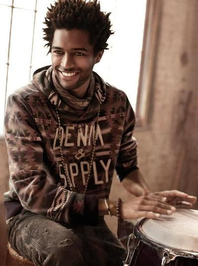Thiago Santos - ph: Mark Seliger for Ralph Lauren Denim & Supply Fall 2012