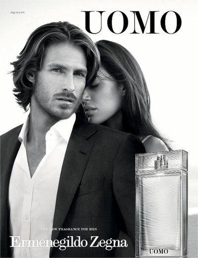 Ryan Burns - Ph: Matthew Brookes for Zegna Fragrance