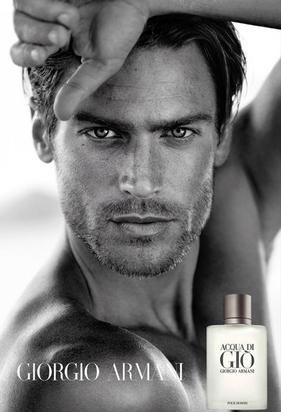 Jason Morgan - Ph: Matthew Brookes for Giorgio Armani Acqua di Gio 2015