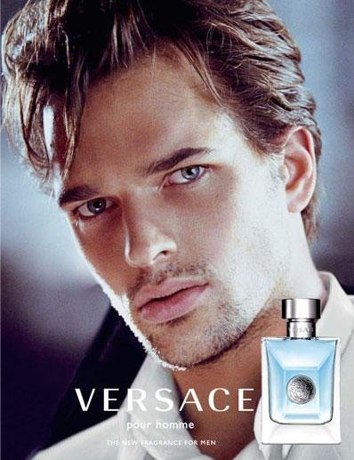 Michael Gstoettner - Ph: Mario Testino for Versace Fragrance 2009