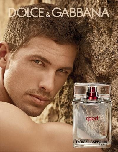 Adam Senn - Ph: Mariano Vivanco for Dolce & Gabbana Sport S/S 12 Fragrance Contract