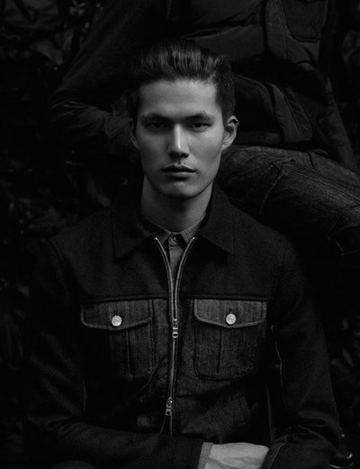Dae Na - Ph: Laurence Ellis for Armani Exchange Black