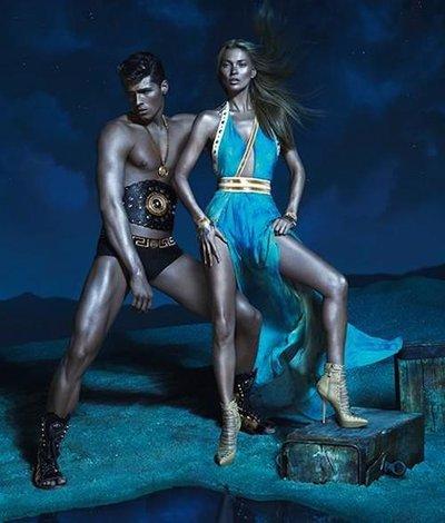 Edward Wilding - Ph: Mert Alas and Marcus Piggot for Versace S/S 13