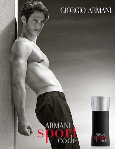 Domenique Melchior - Ph: for Armani Sport Code Fragrance 2013