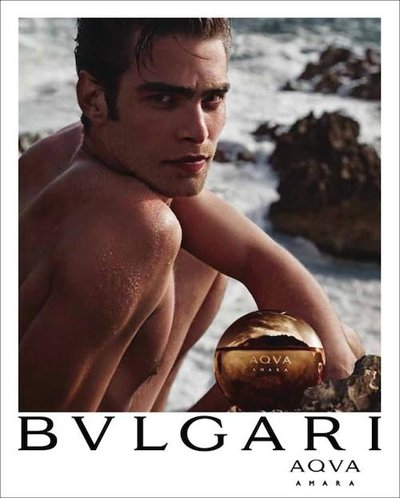 Jon Kortajarena - Ph: Mario Sorrenti for Bulgari Aqva Fragrance 2014