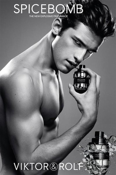 Sean O'Pry - Ph: Inez and Vinoodh for Viktor & Rolf Spicebomb Contract 2014