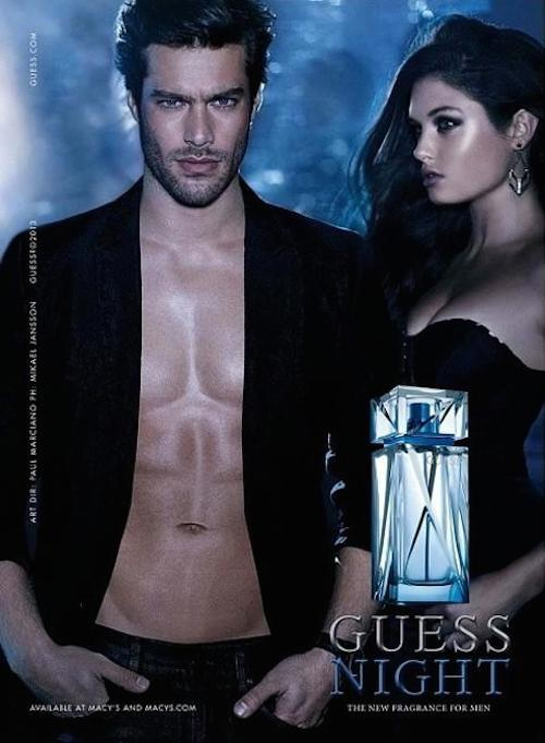 Goncalo Teixeira - Ph: for Guess Night Fragrance 2014