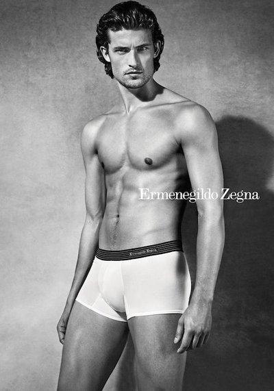Wouter Peelen - Ph: Van Mossevelde + N for Ermenegildo Zegna Underwear F/W 14