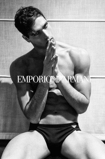 Fabio Mancini - Ph: Andrea Dones for Emporio Armani Sensual Underwear 2015