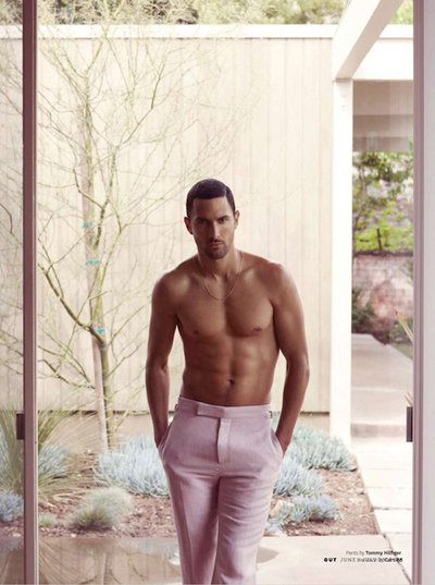 Noah Mills - Ph: Bruno Staub for Out Magazine August 2013