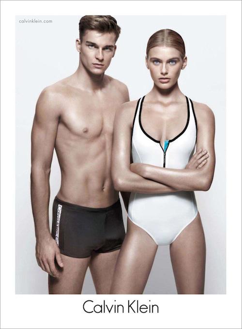 Thorben Gartner - Ph: Daniel Jackson for Calvin Klein Swimwear 2013