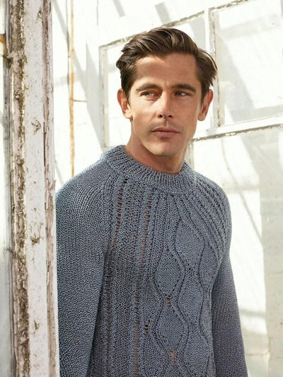 Werner Schreyer - Ph: Roe Ethridge for Pringle S/S 14
