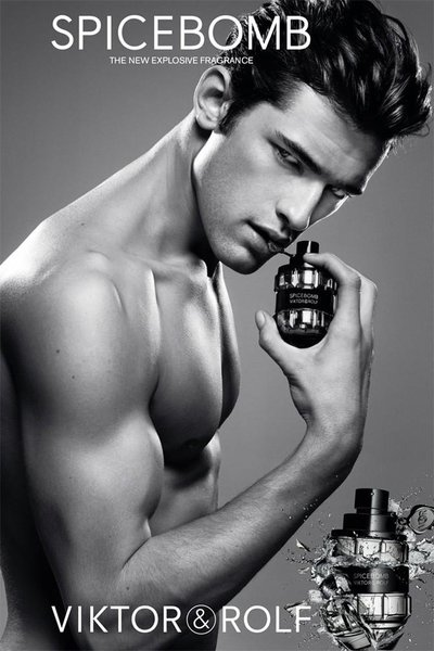 Sean O'Pry - Photo: Inez and Vinoodh for Viktor & Rolf Spicebomb Contract