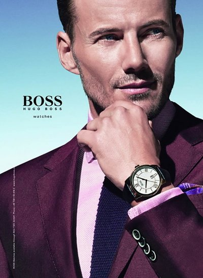 Alex Lundqvist - Photo: for Hugo Boss Accessories S/S 14