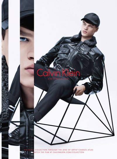 Filip Hrivnak - Ph: Charles Atlas for Calvin Klein Collection F/W 15