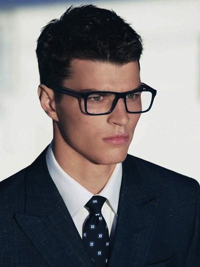 Arran Sly - Ph: Michael Roberts for Emporio Armani S/S 13