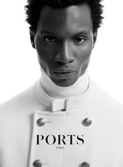 Adonis Bosso - Ph: Sebastian Kim for Ports 1961 F/W 16