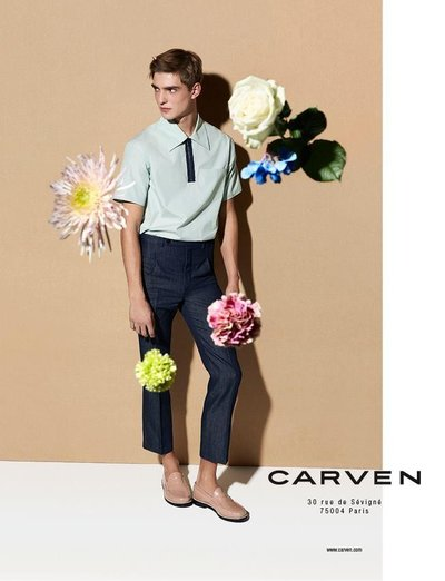 Guerrino Santulliana - Ph: Vivianne Sassen for Carven S/S 14