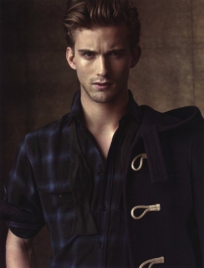 RJ King - Ph: Matthew Brookes for Man of the World