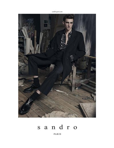 Elliot Vulliod - Ph: Karim Sadli for Sandro F/W 14