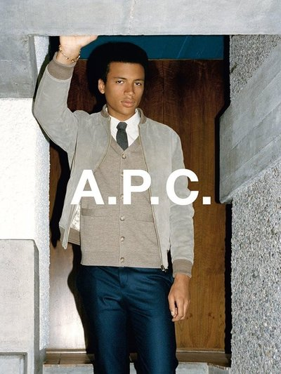 Henry Pedro Wright - Ph: Walter Pfeiffer for A.P.C. Fall 2014