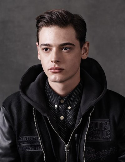 Jacob Morton - Ph: Josh Olins for Adidas Originals Blue F/W 14