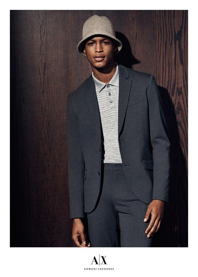 Conrad Bromfield - Ph: Sebastian Kim for Armani Exchange