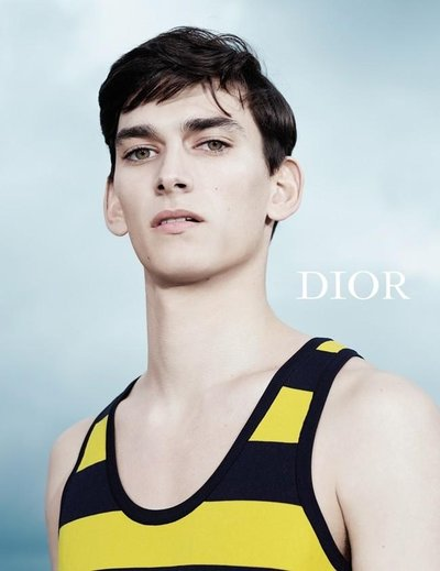 Thibaud Charon - Ph: Willy Vanderperre for Dior Homme Spring 2015