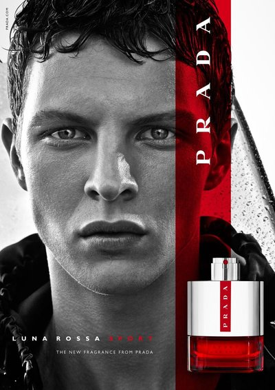 Tim Schuhmacher - Ph: Craig McDean for Prada Luna Rossa Fragrance 2015