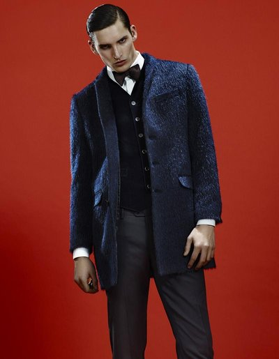 Dominik Bauer - Ph: Emilio Tini for Alessandro dell'Acqua
