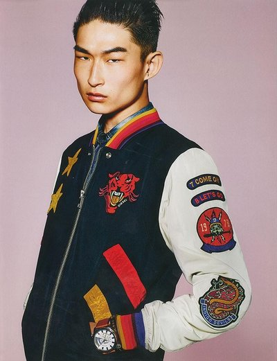 Sang Woo Kim - Ph: Richard Burbridge for Diesel F/W 15