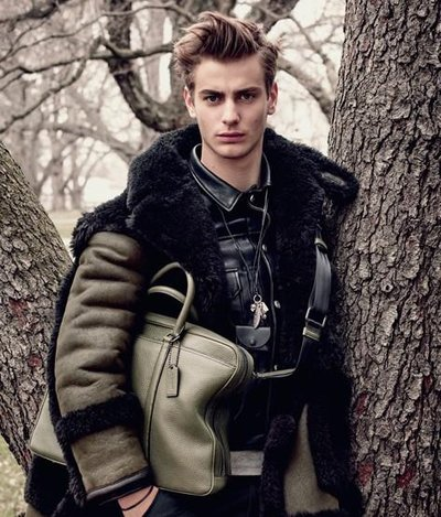 Ben Allen - Ph: Steven Meisel for Coach F/W 15