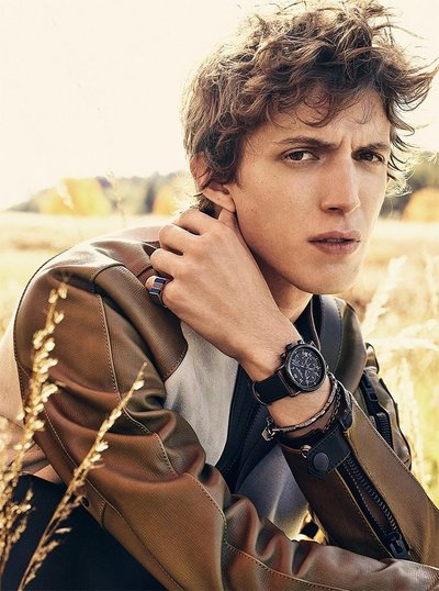 Xavier Buestel - Ph: Steven Meisel for Coach S/S 16