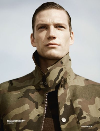 Florian Van Bael - Ph: Richard Phibbs for GQ Russia