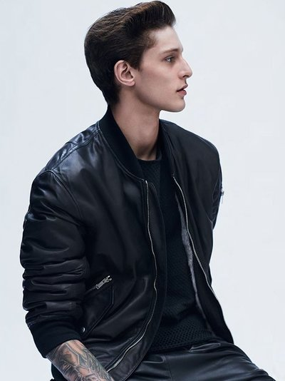 Jeremy Matos - Ph: Johan Sandberg for L'Officiel Hommes Italia F/W 14