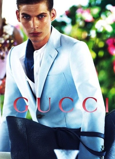 Baptiste Radufe - Ph: Mert Alas and Marcus Piggot for Gucci Cruise 2013