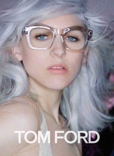 Lida Fox - Ph: Nick Knight for Tom Ford S/S 16