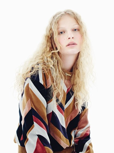 Frederikke Sofie - Ph: Mario Sorrenti for Vogue Paris August 2015