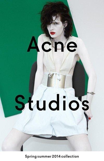 Zlata Mangafic - Acne S/S 14 by Viviane Sassen