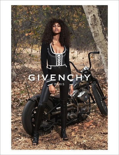 Imaan Hammam - Ph. Mert & Marcus for Givenchy S/S 15