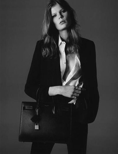 Alexandra Elizabeth Ljadov - Ph: Hedi Slimane for Saint Laurent Spring 2015