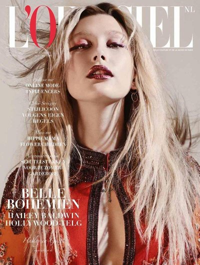 Hailey Baldwin - Ph: for L'Officiel Netherlands April/May 2015 Cover