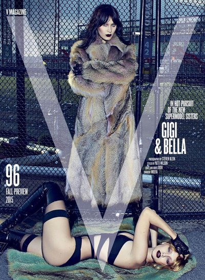 Bella Hadid - Ph: Steven Klein for V Magazine Fall Preview 2015
