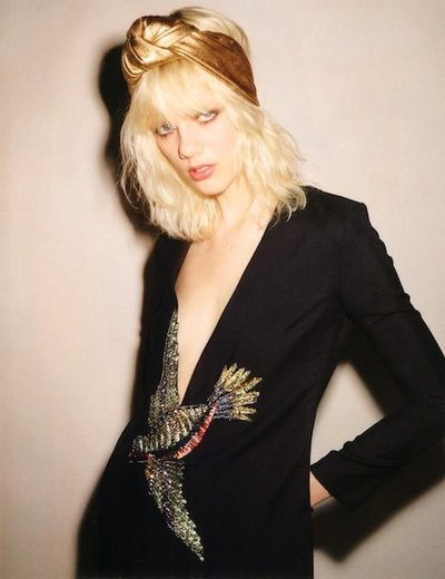 Marjan Jonkman - Ph: Ezra Petronio for Vogue Japan