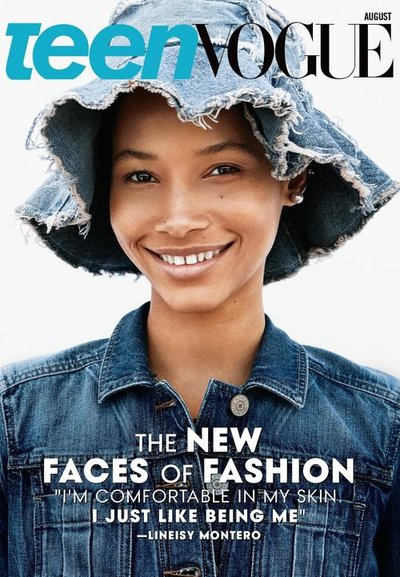 Lineisy Montero - Ph: Daniel Jackson for Teen Vogue August 2015 Cover